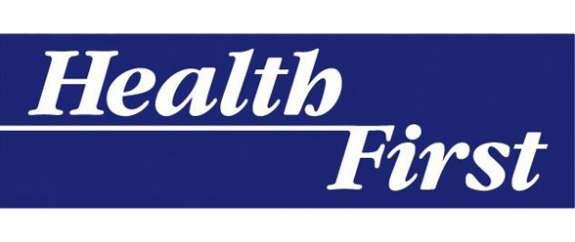 Health First logo.