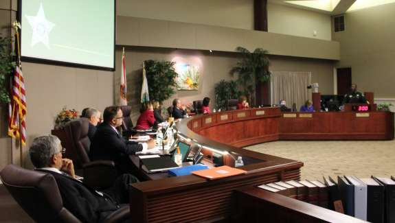 Members of the Orange County Board of County Commissioners serve four-year terms. Photo: WMFE.
