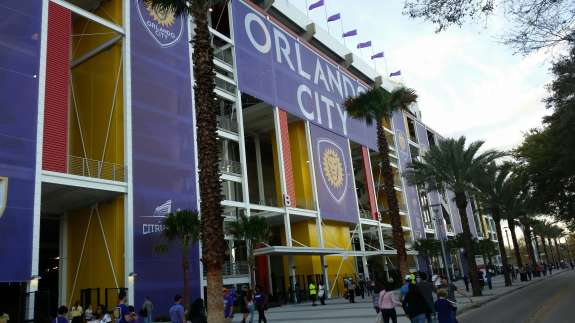"Orlando mayor Buddy Dyer calls the Citrus Bowl ""a catalyst in renaissance in development"" for attracting small business owners to Parramore . Photo: Orlando City Soccer."