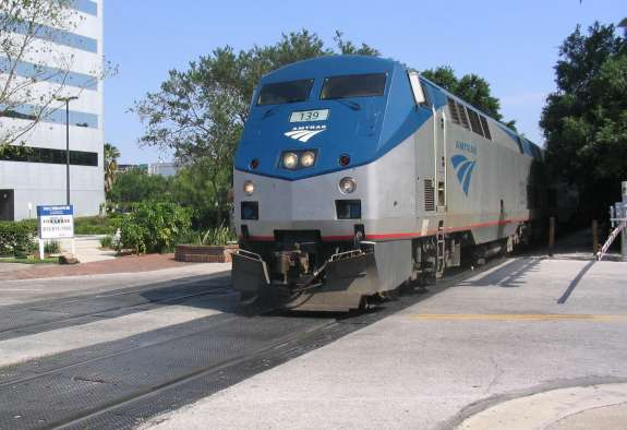 The Southern Rail Commission, a bipartisan group, is pushing to bring back a daily line with service from Orlando through the Florida Panhandle, Alabama, and MIssissippi. Photo: Wikimedia Commons.
