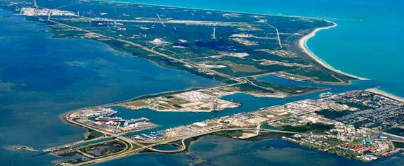 Port Canaveral Container Terminal. Photo- Port Canaveral
