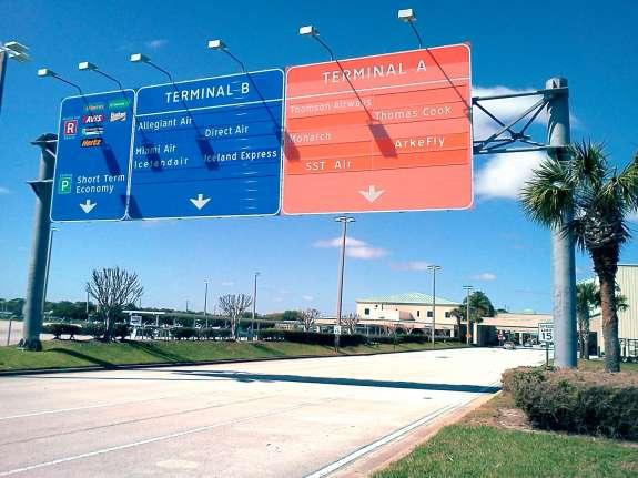 Orlando Sanford International Airport. Photo: Matthew Peddie, WMFE