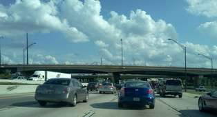 I4 traffic. Photo: Matthew Peddie, WMFE