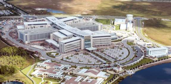 The hospital has more than 1,300 positions that have yet to be filled. Photo: Lake Nona.