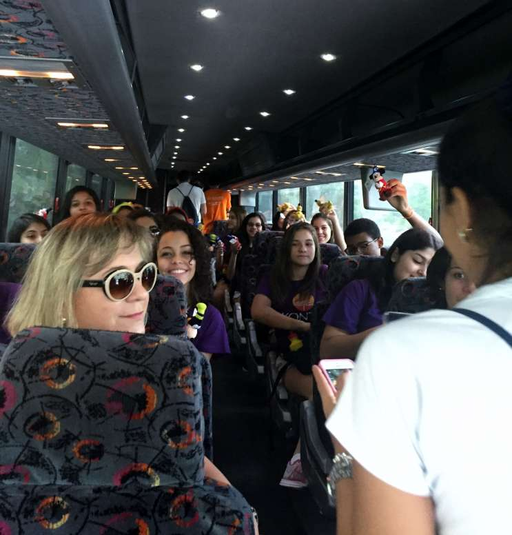 Brazilians teenagers embark upon a rite of passage trip to the Magic Kingdom. Photo: Renata Sago.