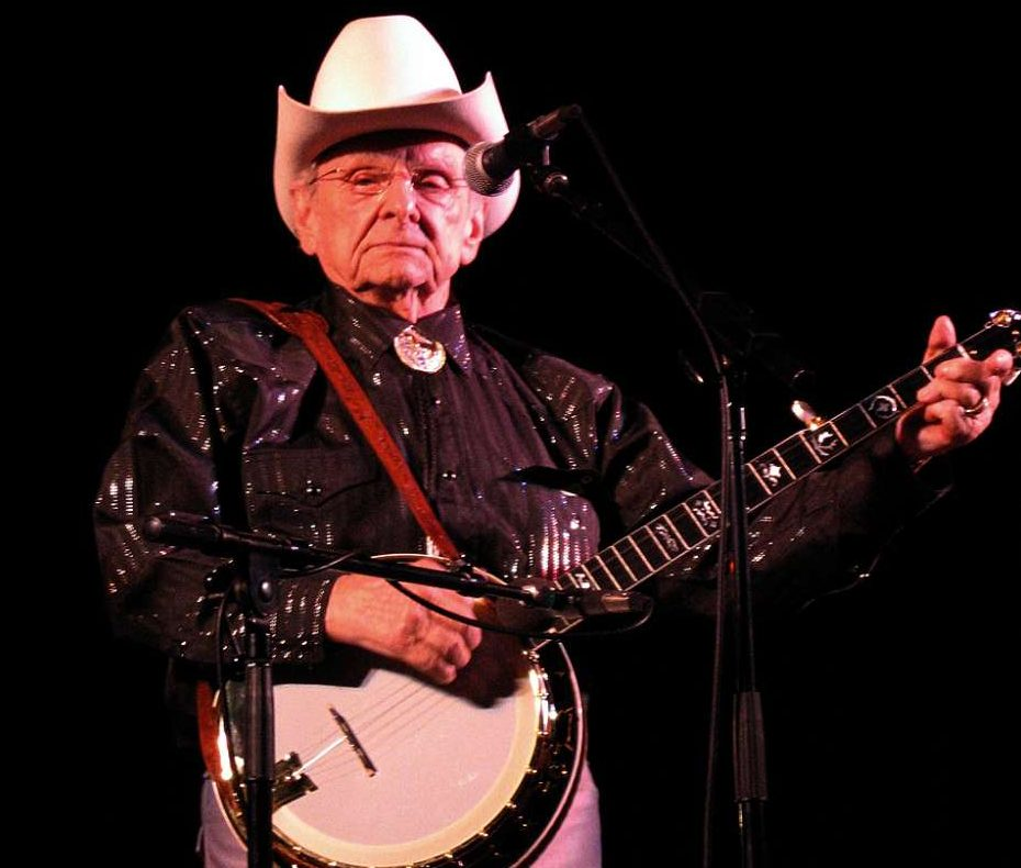 The Fall concert line up includes a tribute to bluegrass legend, the late Ralph Stanley. Photo by Larry Miller from Grass Valley, USA