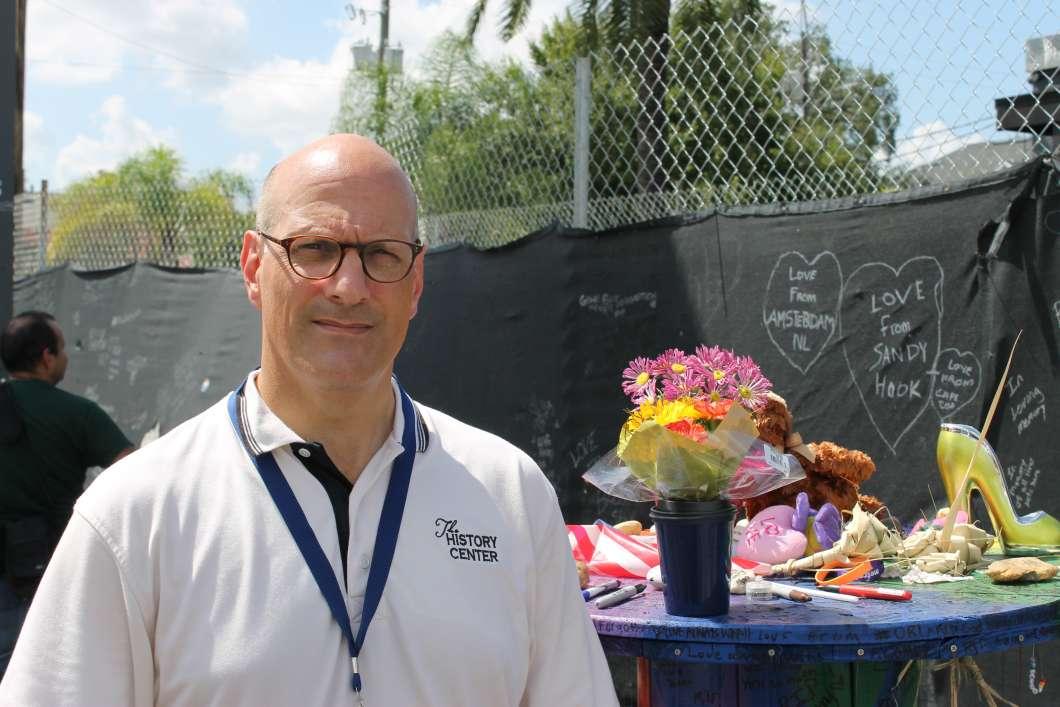 Orange County Regional History Center executive director Michael Perkins. Photo: Matthew Peddie, WMFE
