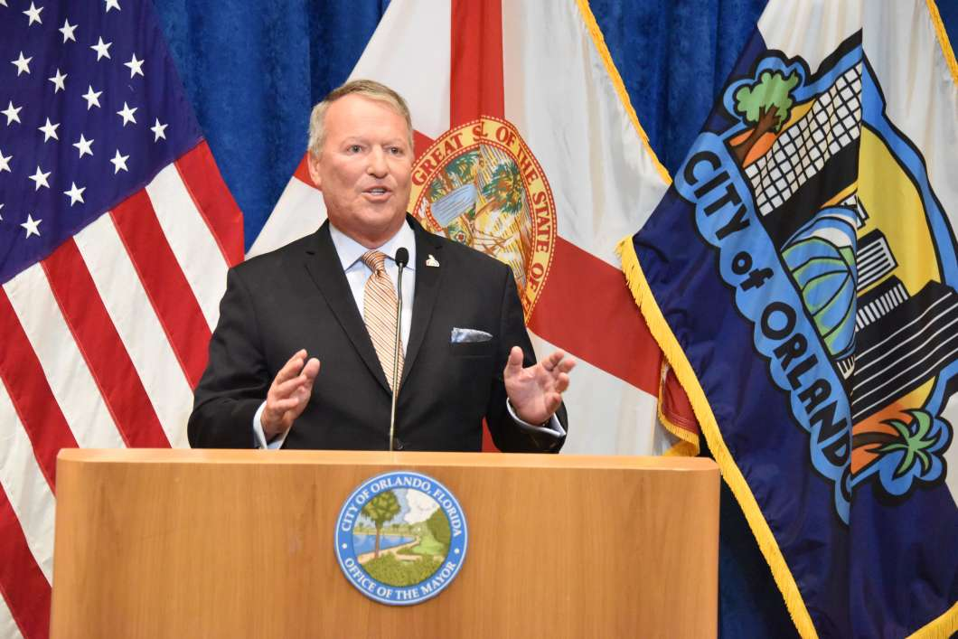 Orlando Mayor Buddy Dyer/ Photo: City of Orlando.