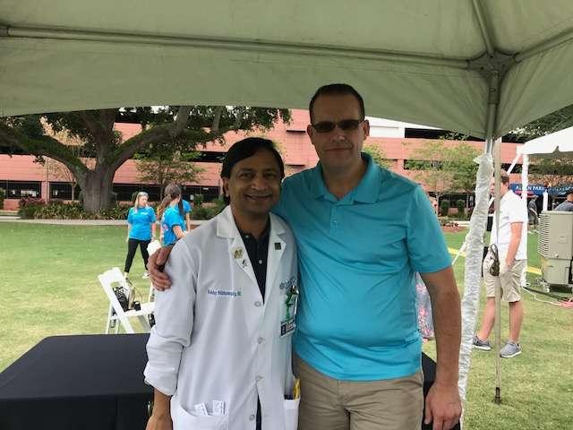 Dr. Bobby Nibhanupudy and Blayne Badura reunite at Florida Hospital's event for organ donors and recipients. Photo: Flickr Creative Commons