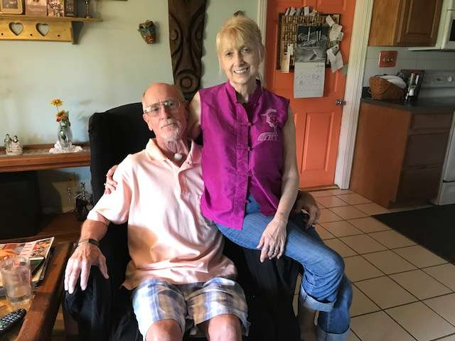Jay Post's throat cancer diagnosis changed his life. Now that he's recovering, he wants to make sure other firefighters get the insurance and benefits they need. Photo: Danielle Prieur