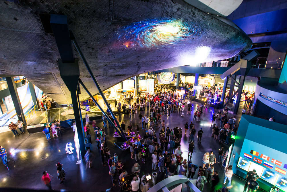Image from Yuri's Night 2018 at Kennedy Space Center. Photo Credit: Marcus Cote