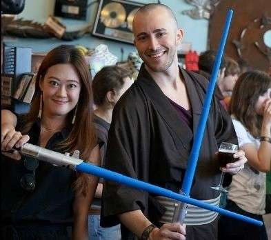 """Photo from a past """"May the 4th Be With You"""" event from the Audubon Park Garden District website. Image credit: TipsoPhoto"""