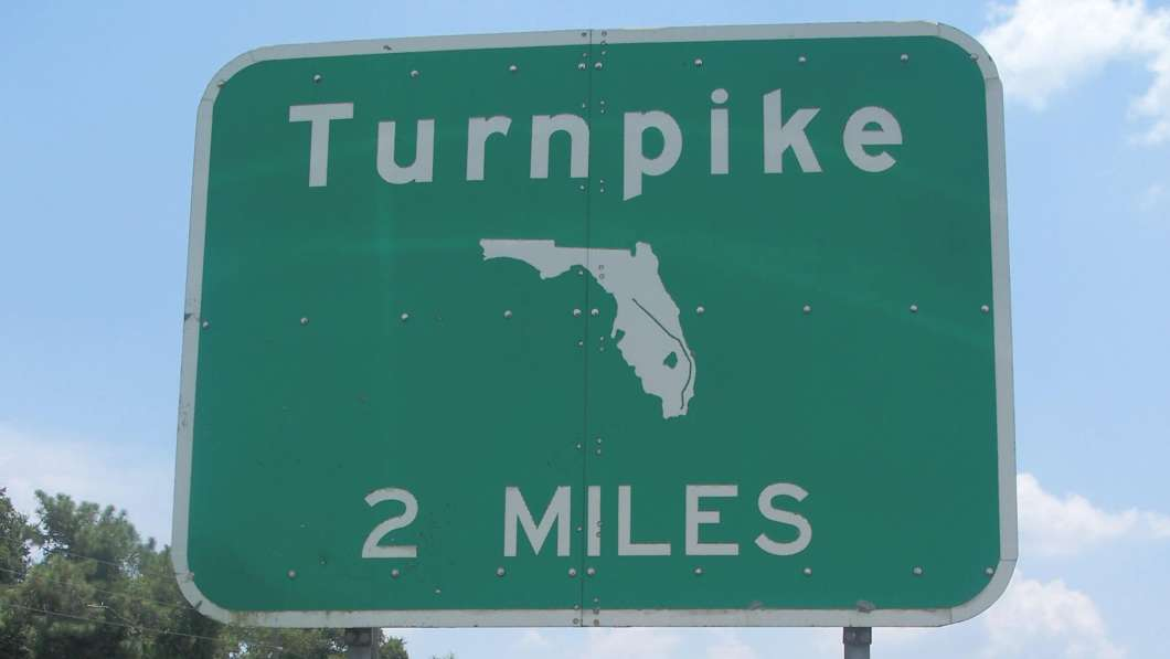 FL Turnpike Sign