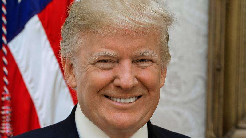 President Donald Trump Official White House Portrait
