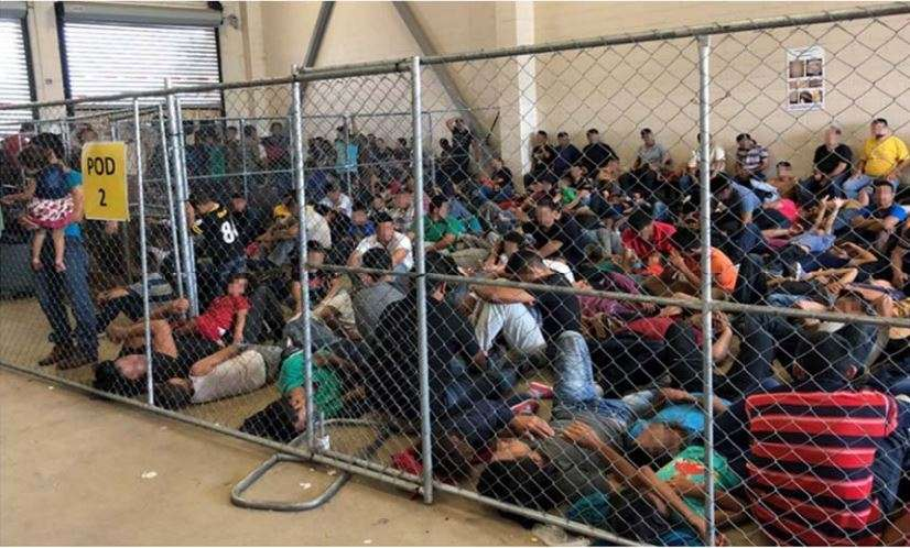 The Inspector General at the Department of Homeland Security observed overcrowding of families on June 10 at a detention center in McAllen, Texas. The OIG issued a blistering report raising concerns that overcrowding and prolonged detention represent an immediate risk to DHS agents and detainees.
