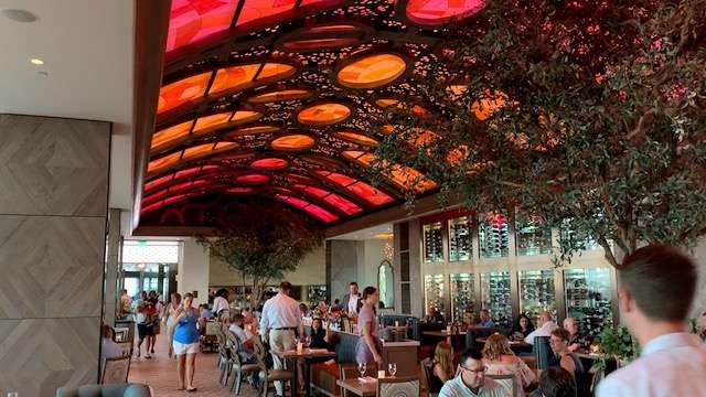 Toledo interior photo courtesy of Scott Joseph's Orlando Restaurant Guide