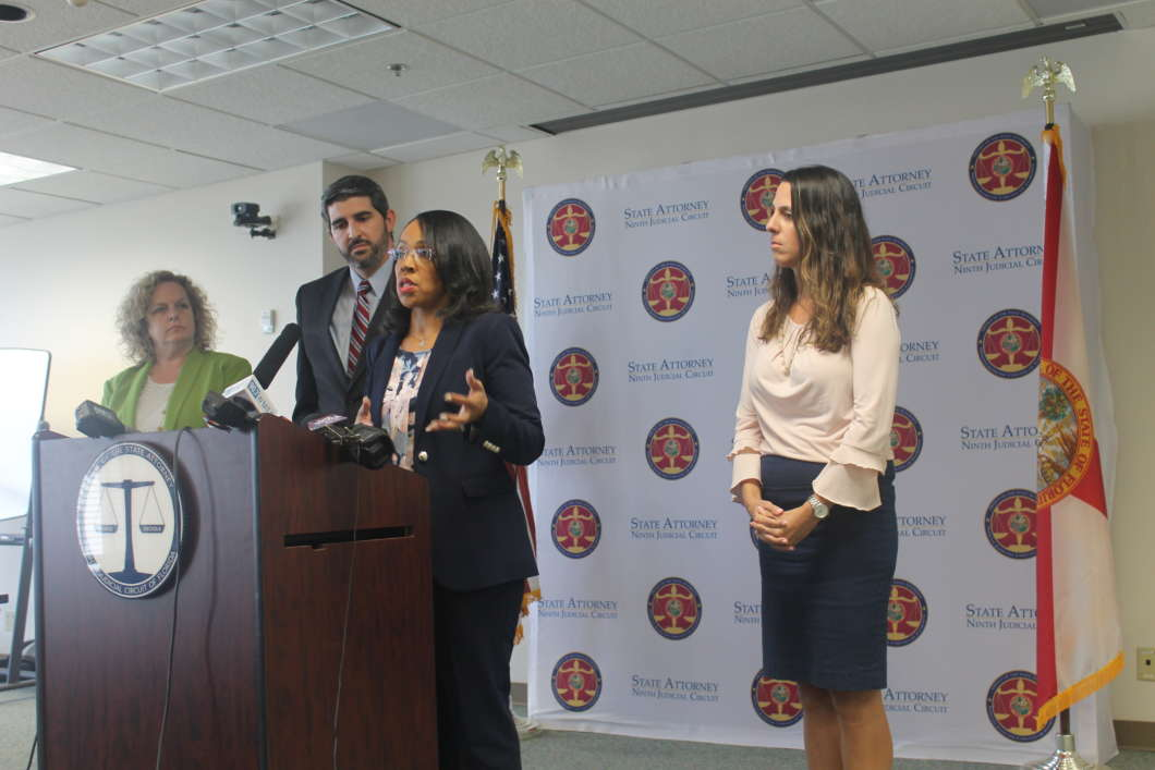 Orange and Osceola State Attorney Aramis Ayala says she's dropping the charges against the children. Photo by Amy Green