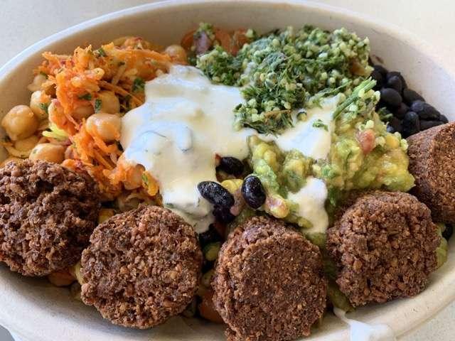 Photo of Scott Joseph's meal creation at the Mexican Camel courtesy of Scott Joseph's Orlando Restaurant Guide