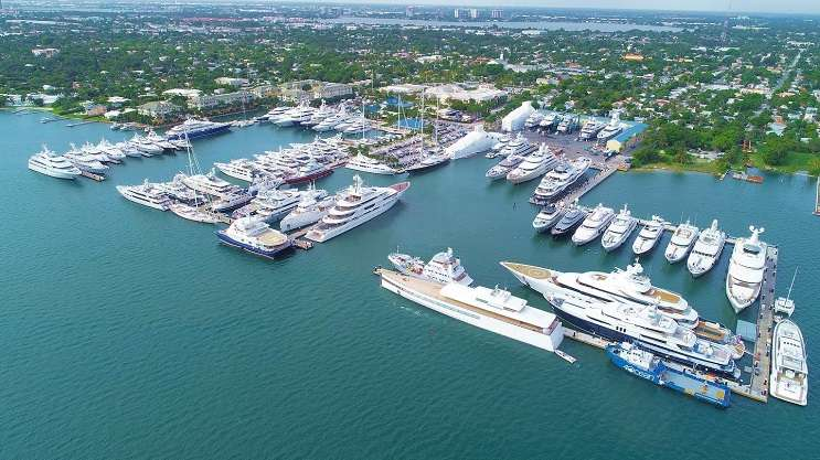 Photo: Image from the Rybovich superyacht marina's facebook page, facebook.com