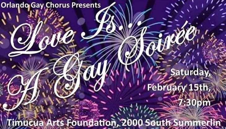 Event photo courtesy of Orlando Gay Chorus