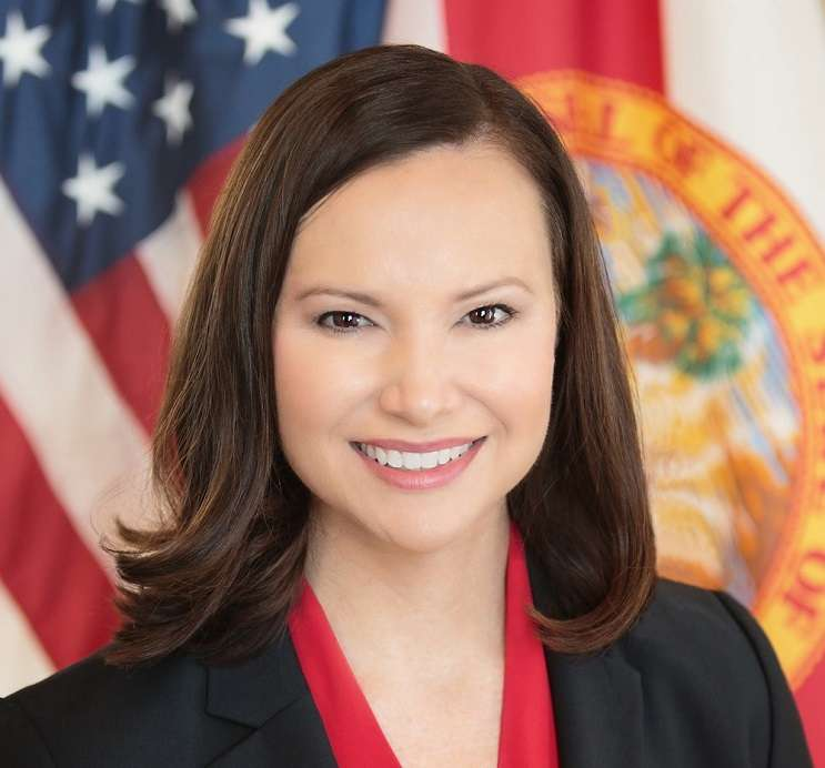 Image: Florida Attorney General Office via Wikimedia, Ashley Moody