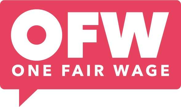 Image: One Fair Wage Logo, https://onefairwage.site/
