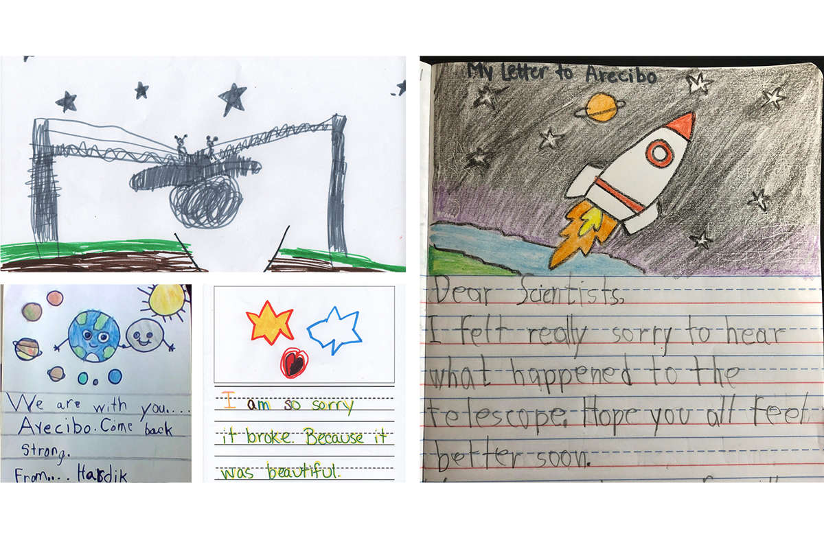After Arecibo's Collapse, Orlando-area Students Write Letters Of Support For Puerto Rican Observatory