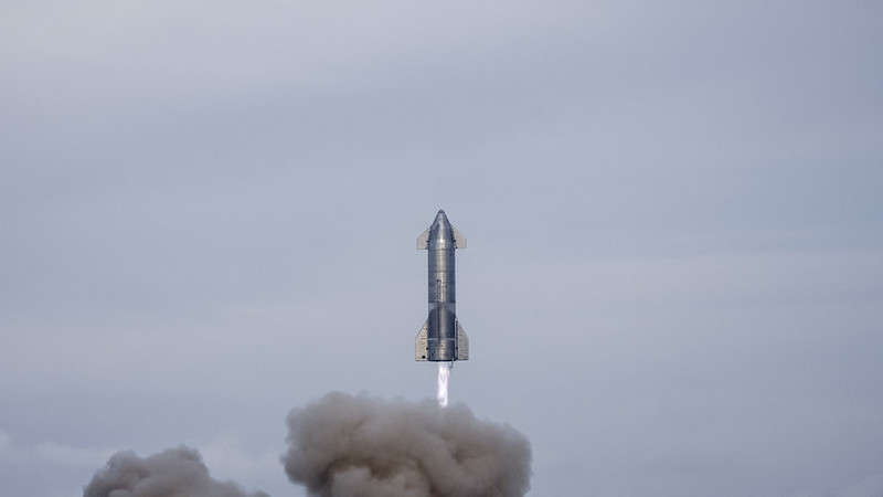 A previous test flight March 3 of SpaceX's Starship ended with a successful landing. Photo: SpaceX