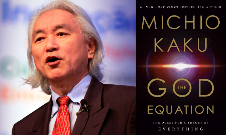 """Theoretical physists Michio Kaku's new book is """"The God Equation: The Quest for a Theory of Everything"""""""