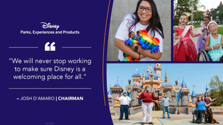 Disney Just Took Another Step Toward Making Its Parks The Happiest Place on Earth For Guests, Workers. Hint: It's Through Inclusion.