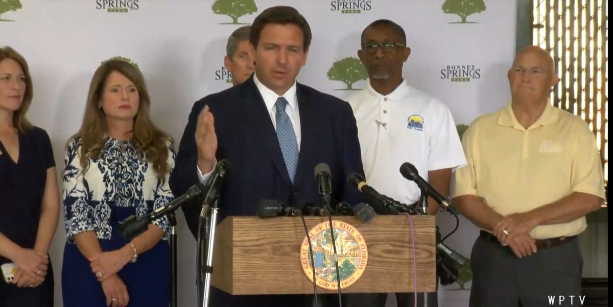 Gov. DeSantis Offers Infrastructure Money to Orange County, But Not Access to Statewide Coronavirus Database