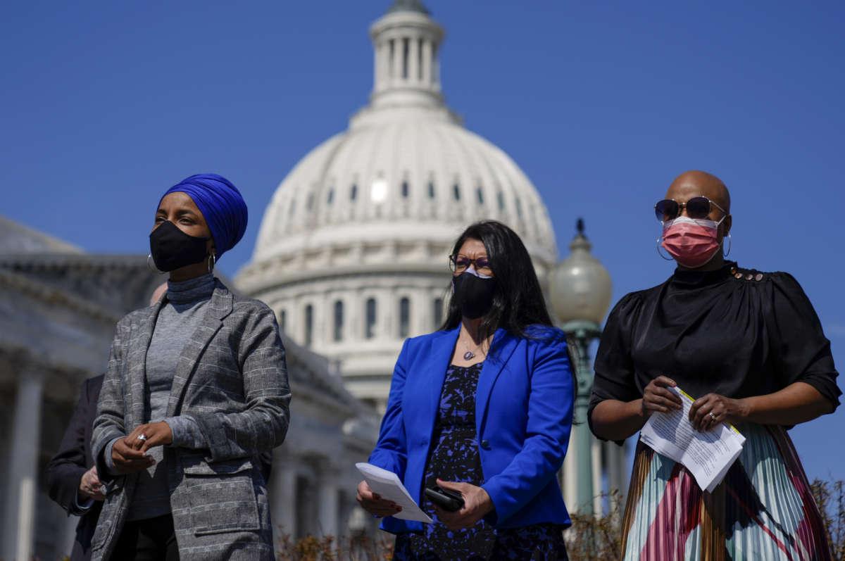 'Unacceptable and unconscionable': Top progressives outraged Biden won't raise refugee cap