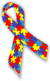 Autism Awareness Ribbion (via: Meleese)