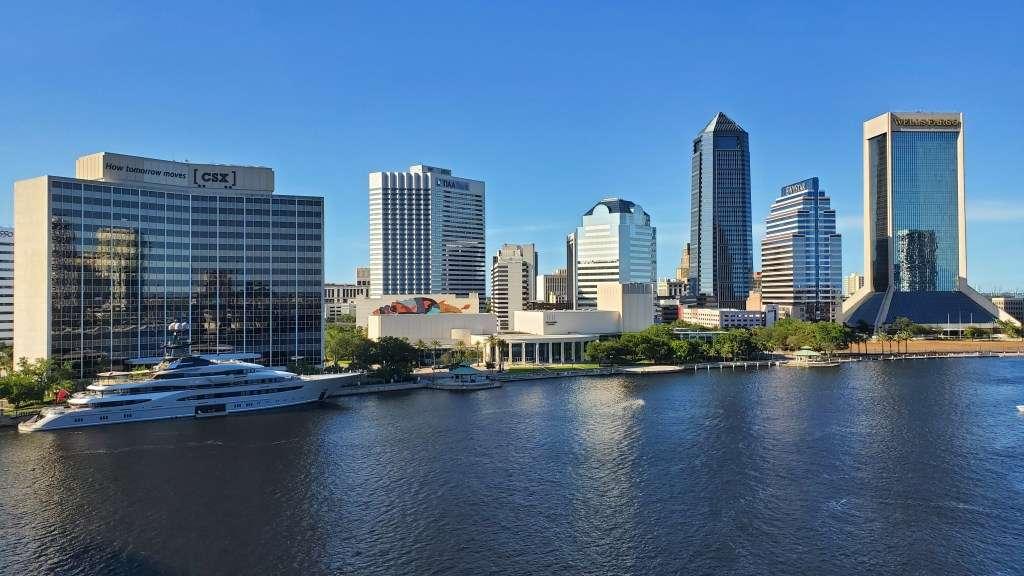 Downtown Jacksonville. Photo courtesy WJCT
