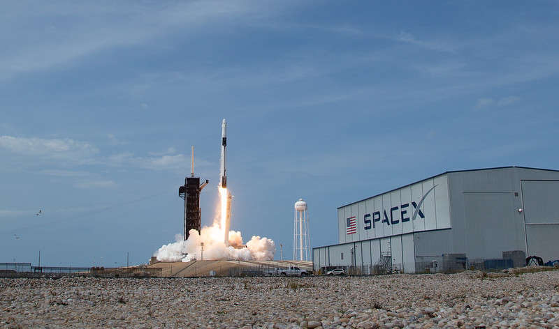 Launches like this one draw tourists to the Space Coast. Photo: NASA