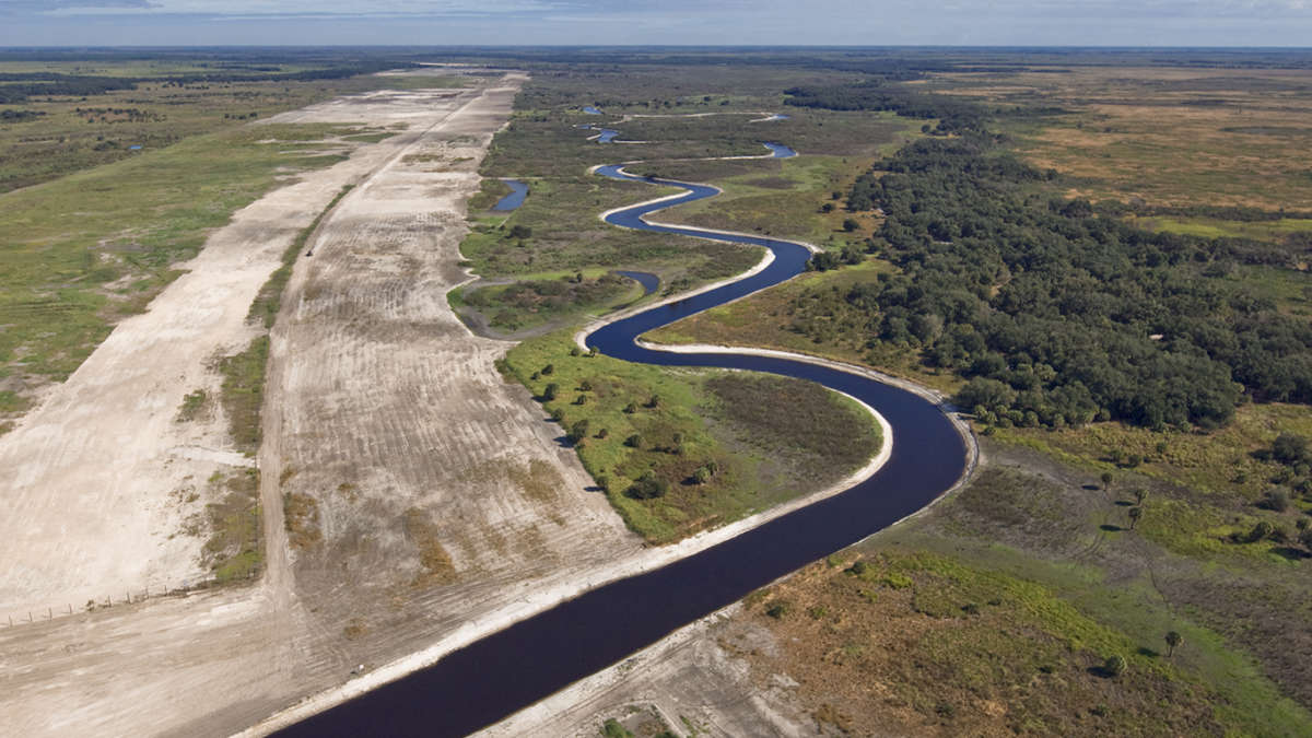The Kissimmee River. Photo courtesy the U.S. Army Corps of Engineers